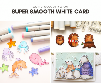 Copic Colouring on Super Smooth White Card
