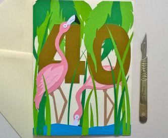 How To Make A Flashy Flamingo