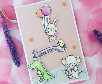Happy Birthday Sweet Critter Card