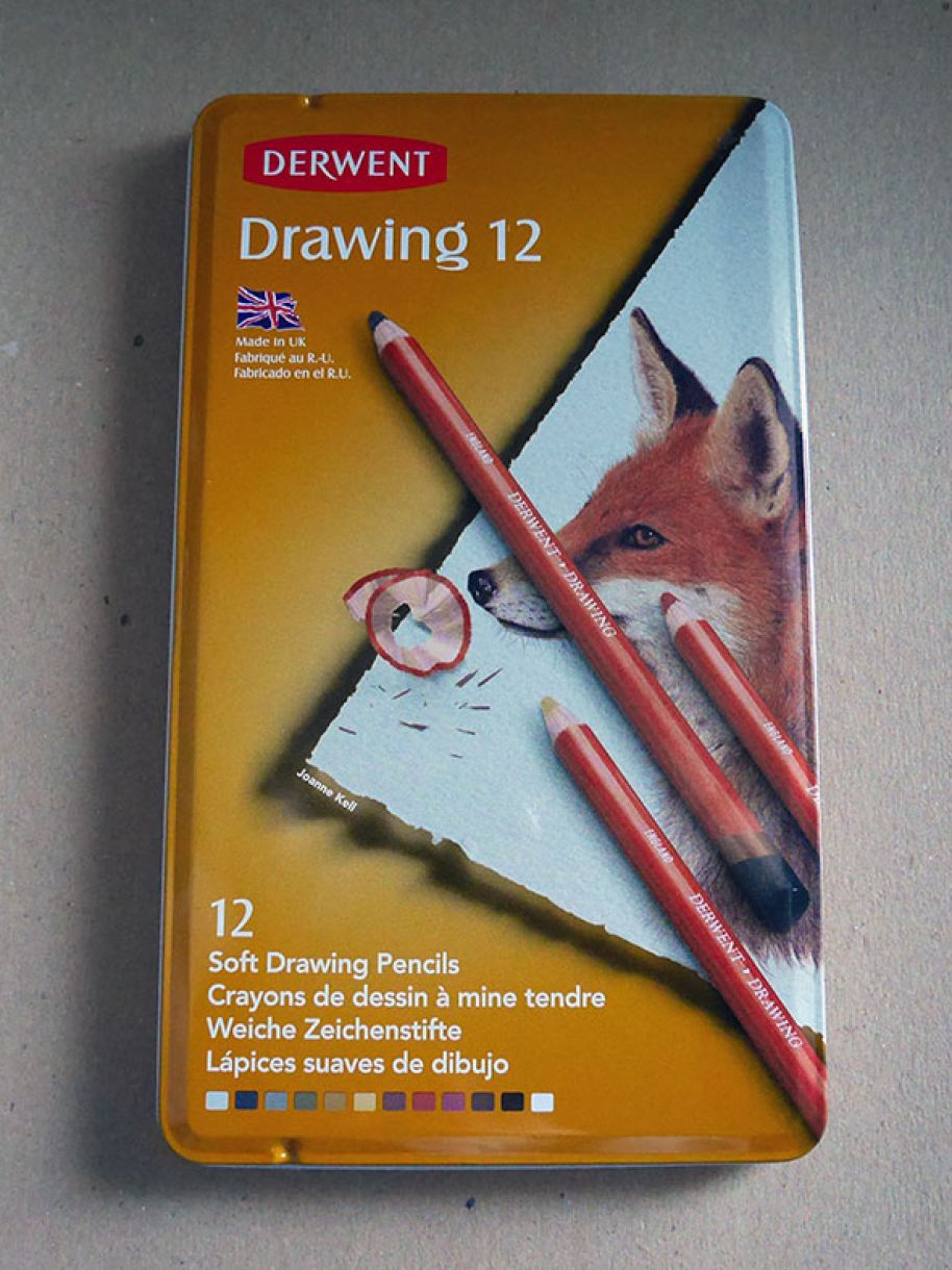 Derwent Sketching Pencils 1