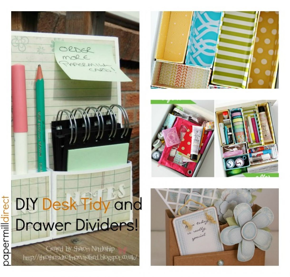 Desk Tidy And Drawer Dividers  Diy
