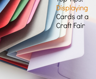 Displaying Cards at a Craft Fair