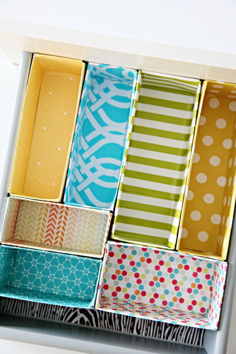 Diy Draw Divider Boxes