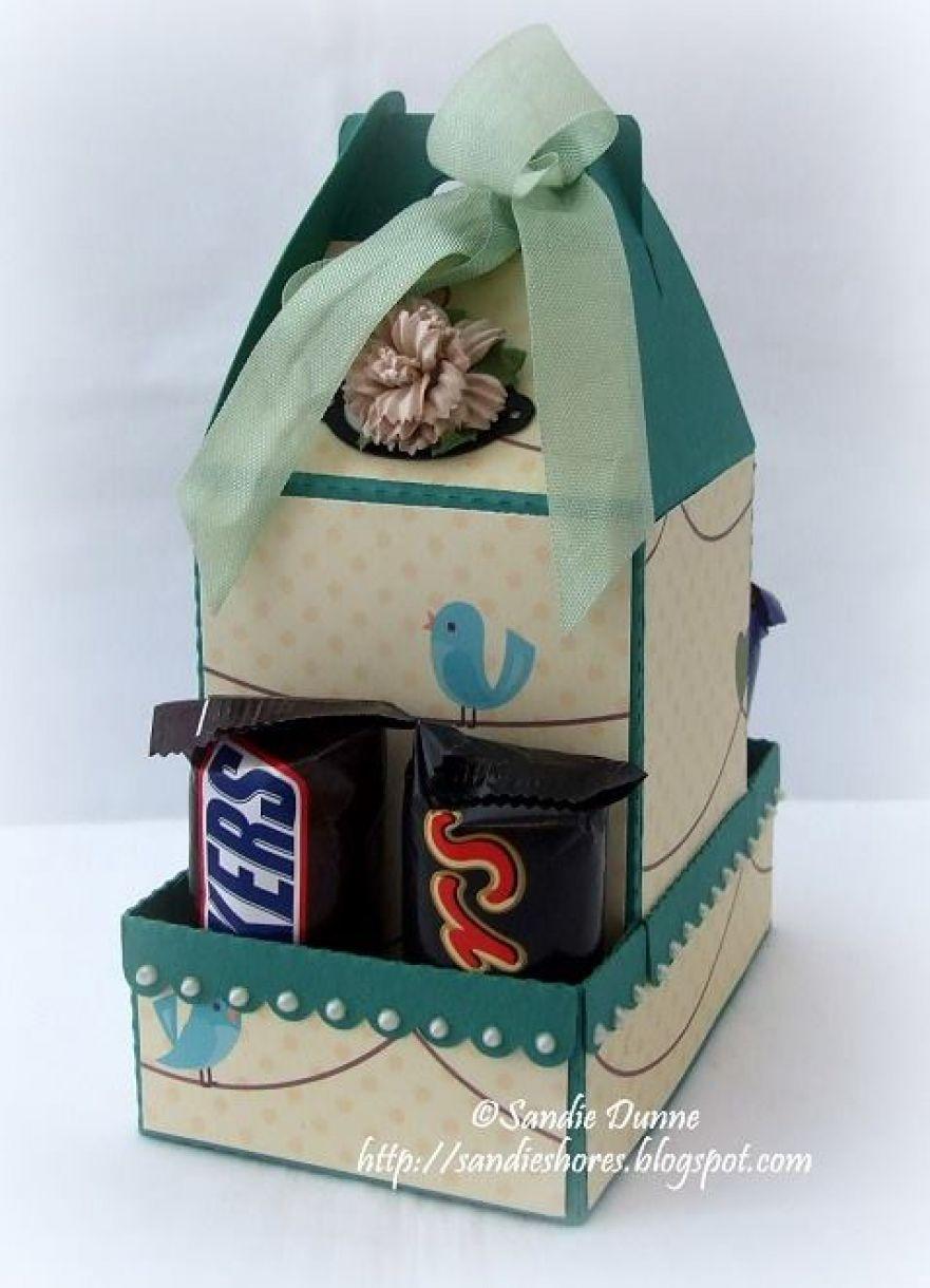 Diy Gift Box For Chocolate Bar