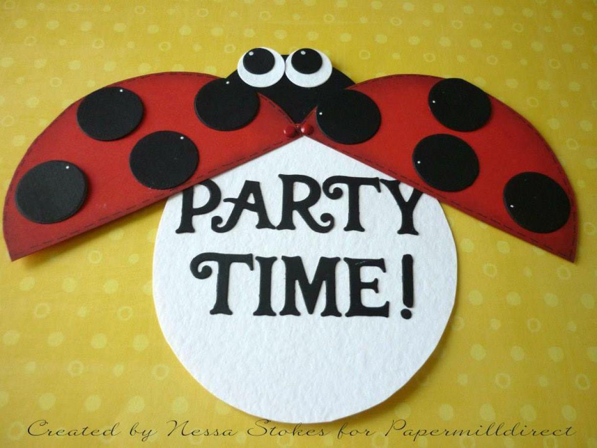Diy Lady Bird Invitations 2