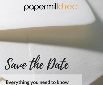 Save the Date - A guide to DIY wedding stationery