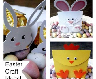Easter Craft Ideas - bunnies, chicks and crafts to keep the kids occupied!