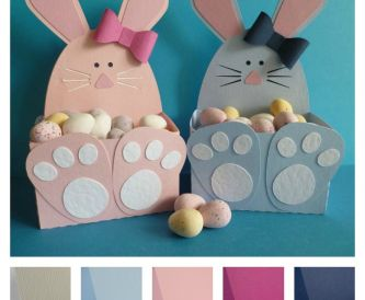 Project - Easter Bunny Gift Boxes