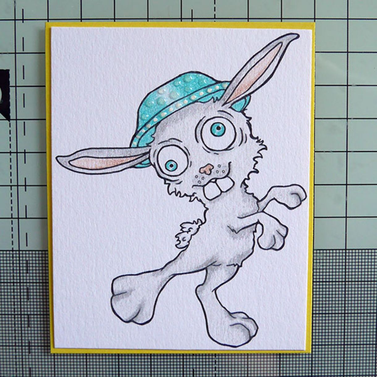 Easter Bunny Card Pic 2