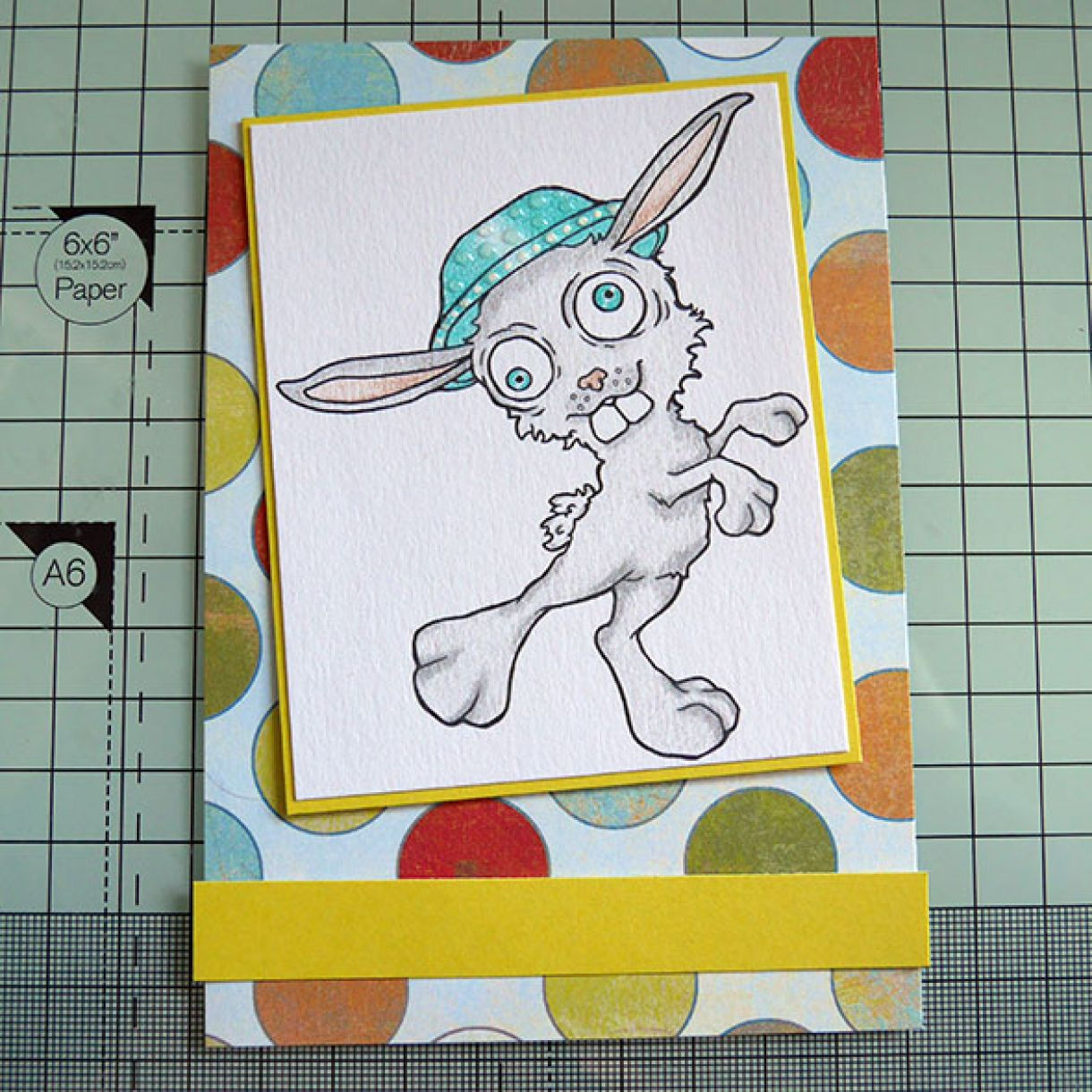 Easter Bunny Card Pic 4