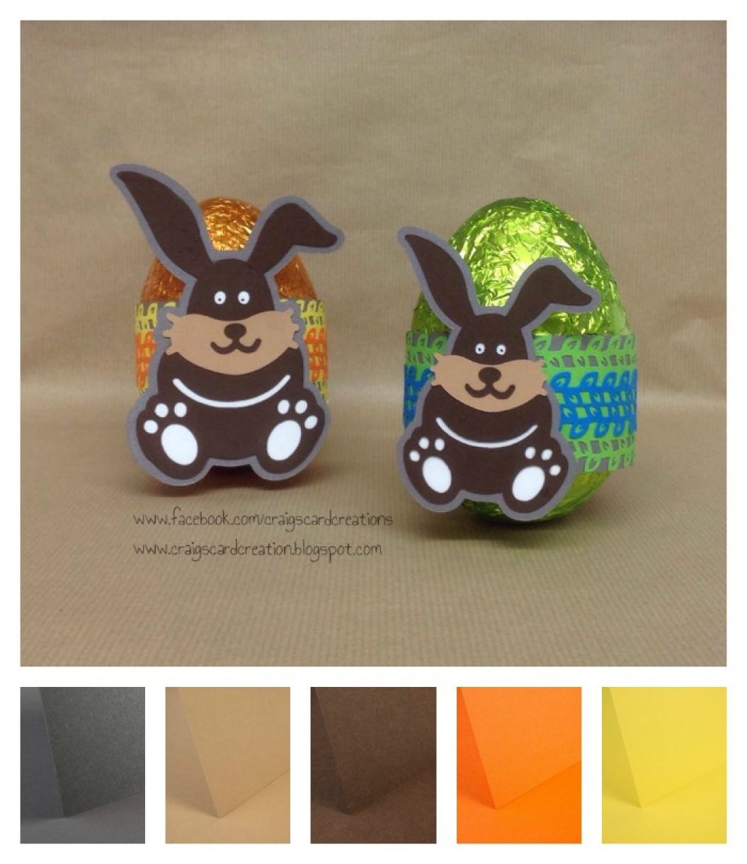Easter Egg Bunny Wrap