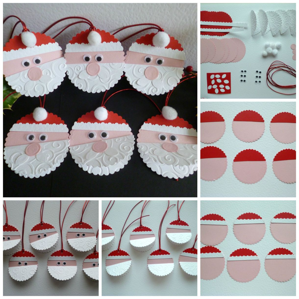 Father Christmas Tags Diy