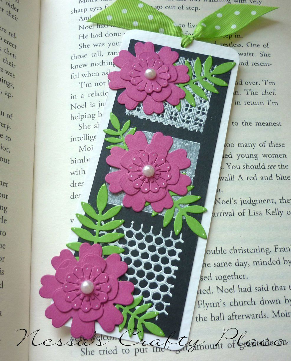 Floral Bookmark Diy