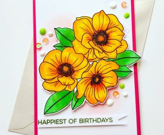 A Bright and Colourful Birthday Card