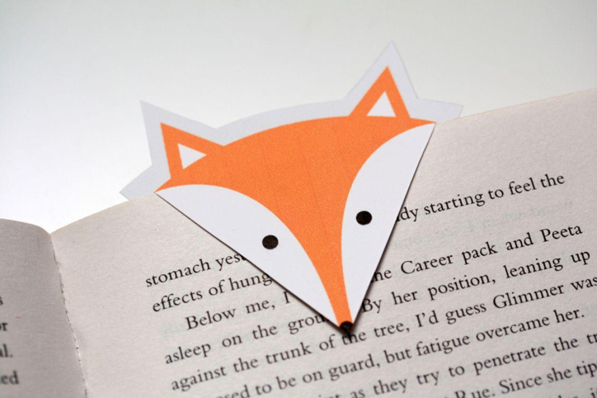 Fox Bookmark Diy