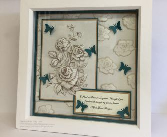 How to make an 8 x 8 frame as a gift