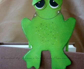 Frog Book Mark - Free Printable