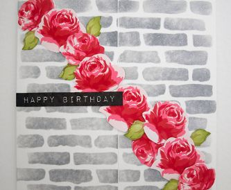 Floral Gatefold Card