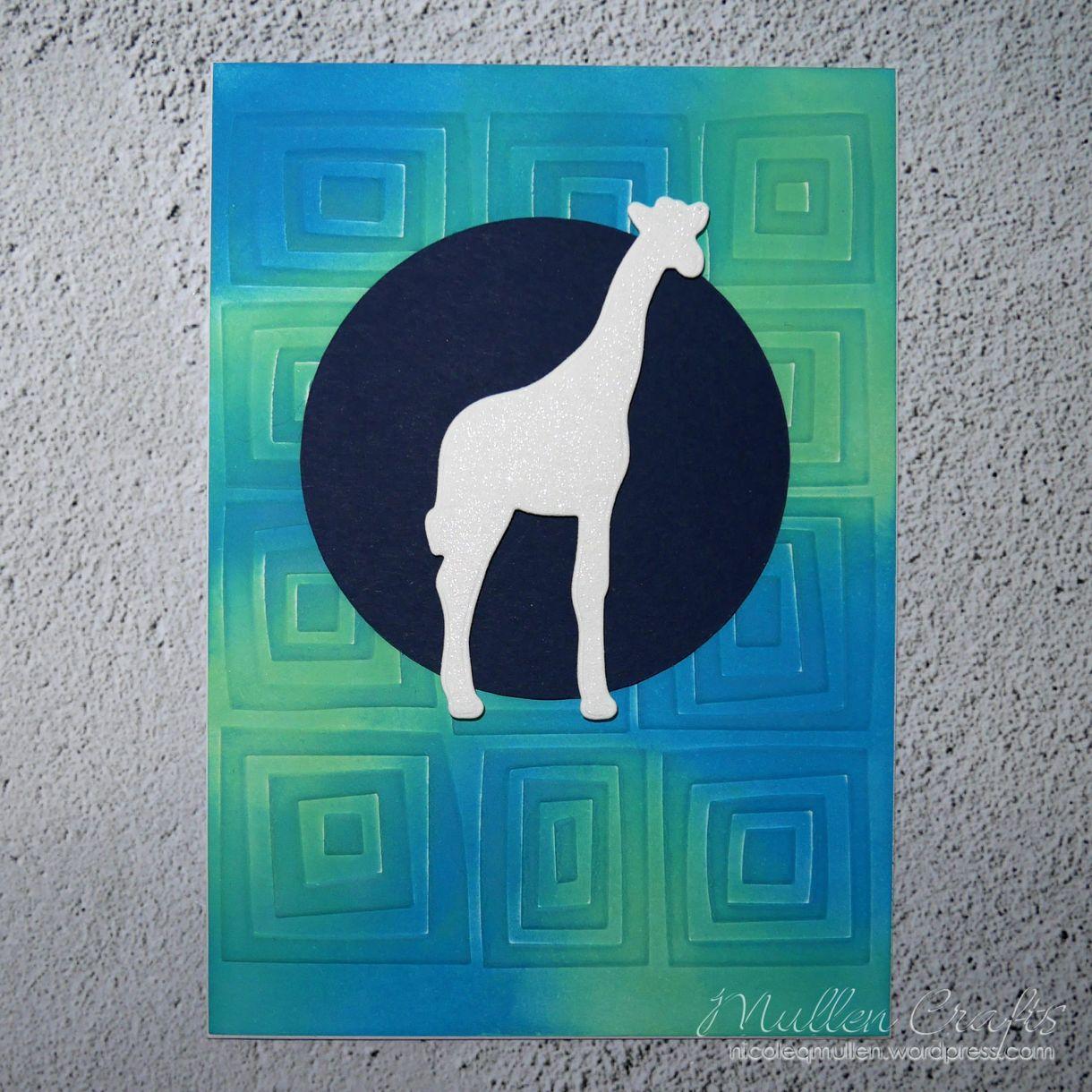 Giraffe Baby Prep Card 4