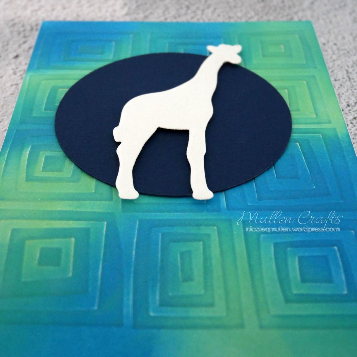 Giraffe Baby Prep Card 5