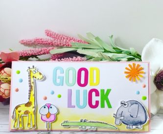 Good Luck Animal Card