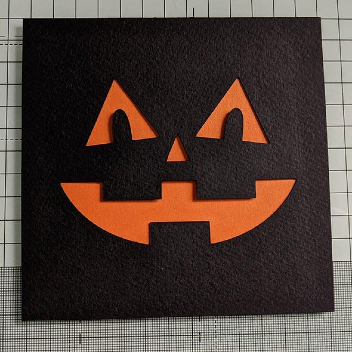Halloween Face Card Nm 4