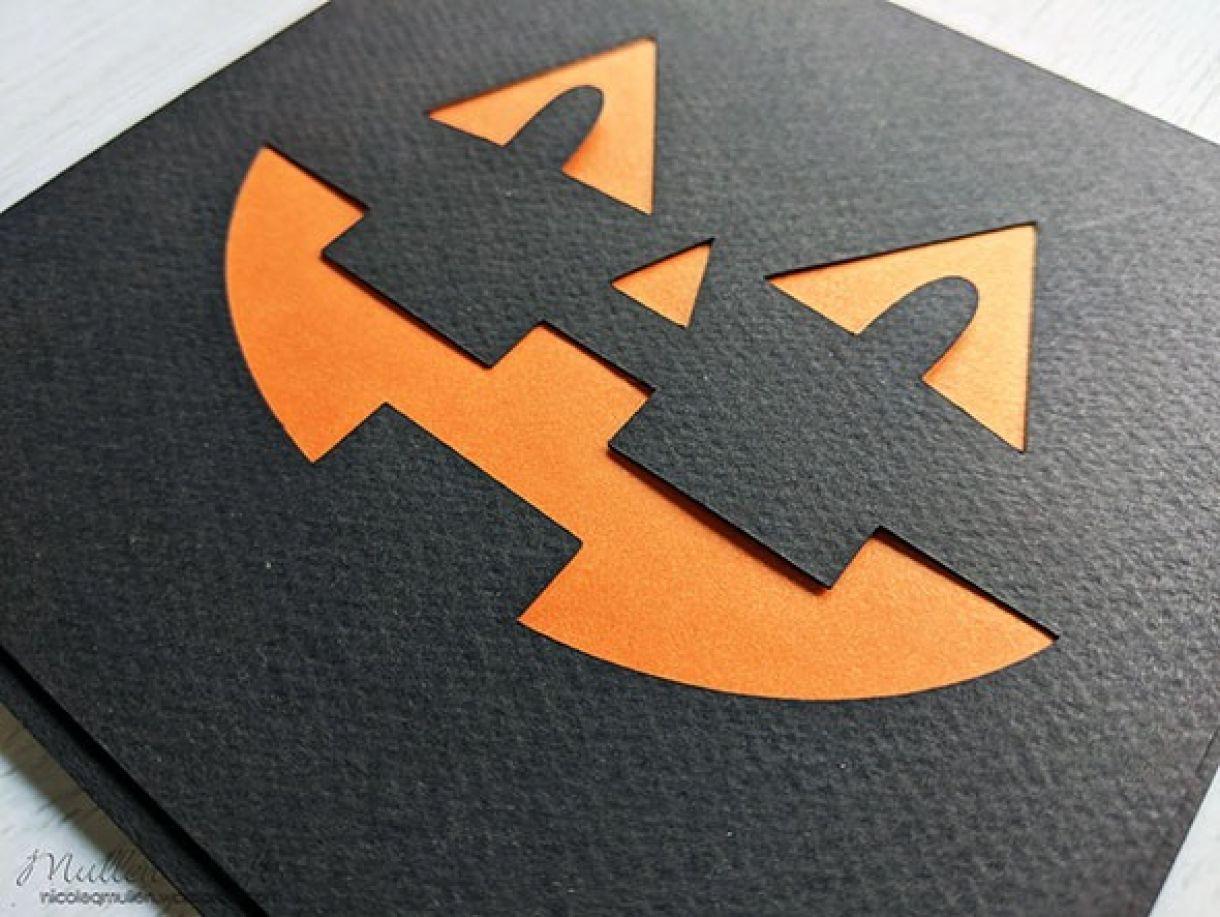 Halloween Face Card Nm 5