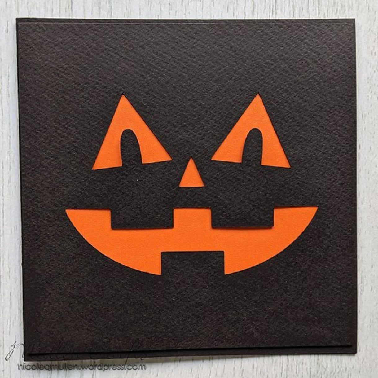 Halloween Face Card Nm 7