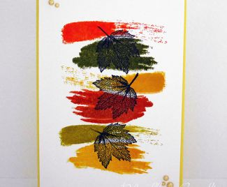 Handmade Card Making Idea - Autumn Inspiration