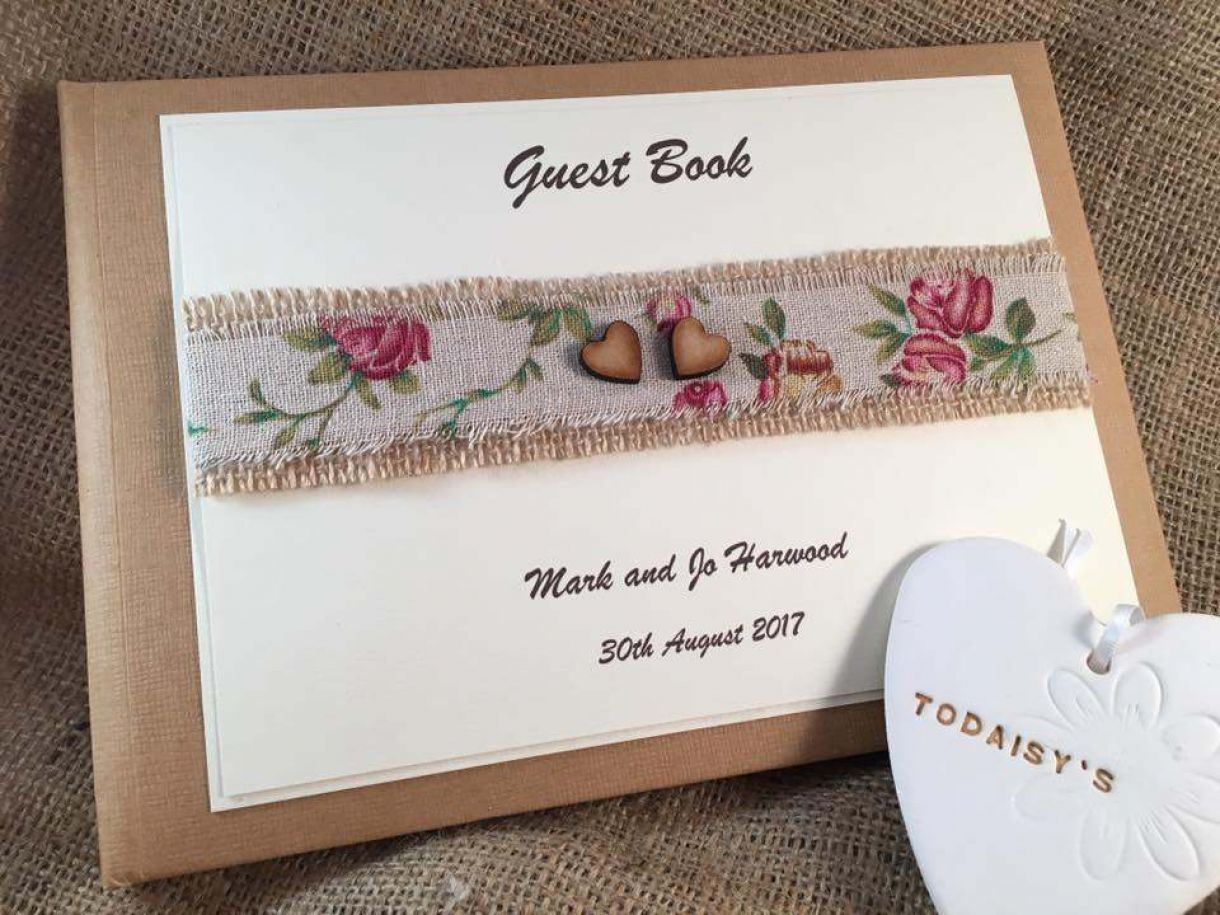 Handmade Wedding Stationery Rustic