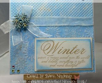 Make your own Shabby Chic Background - Card Making Tutorial