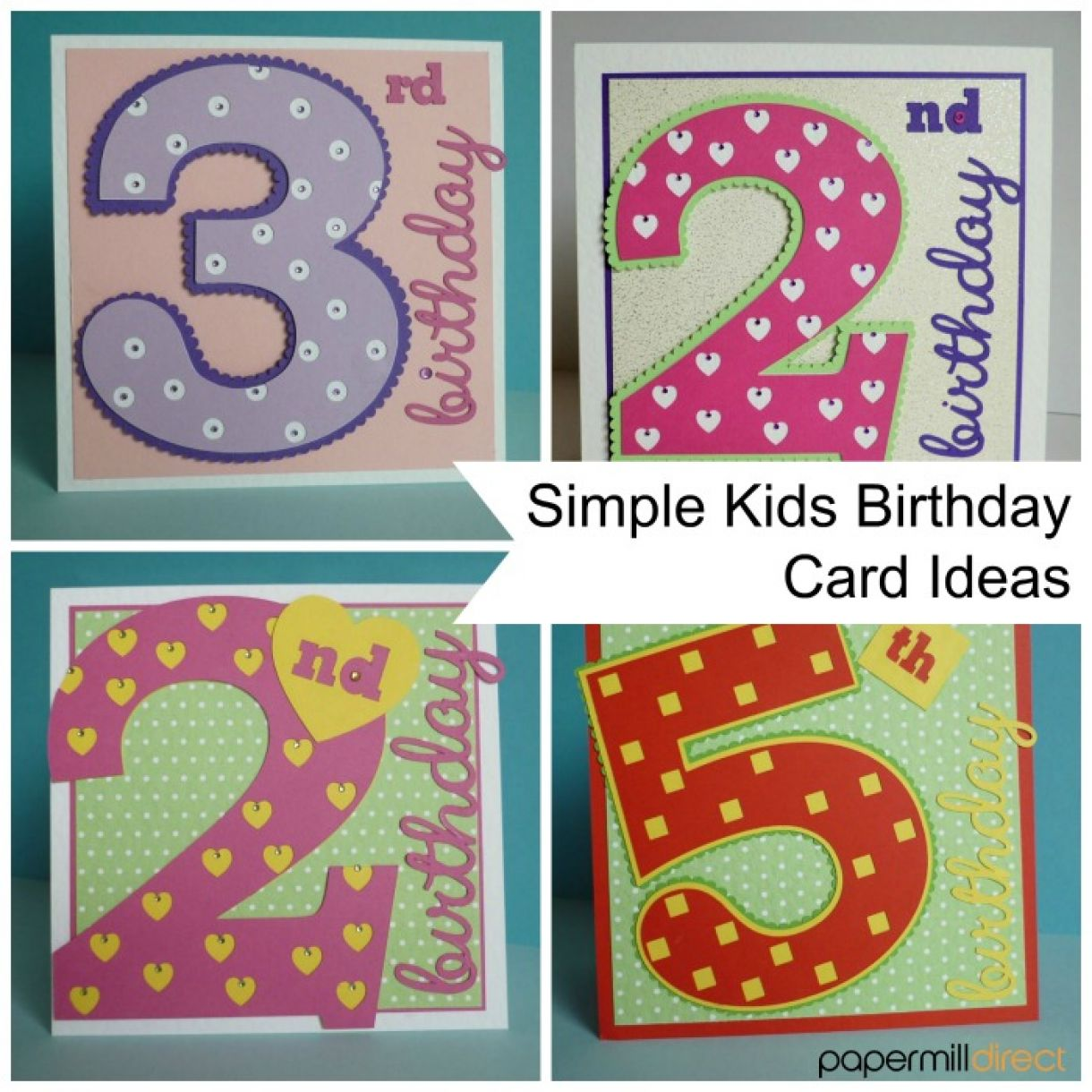 Project Simple Kids Age Cards