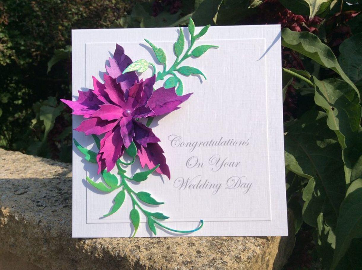 Handmade Wedding Card Ideas 1