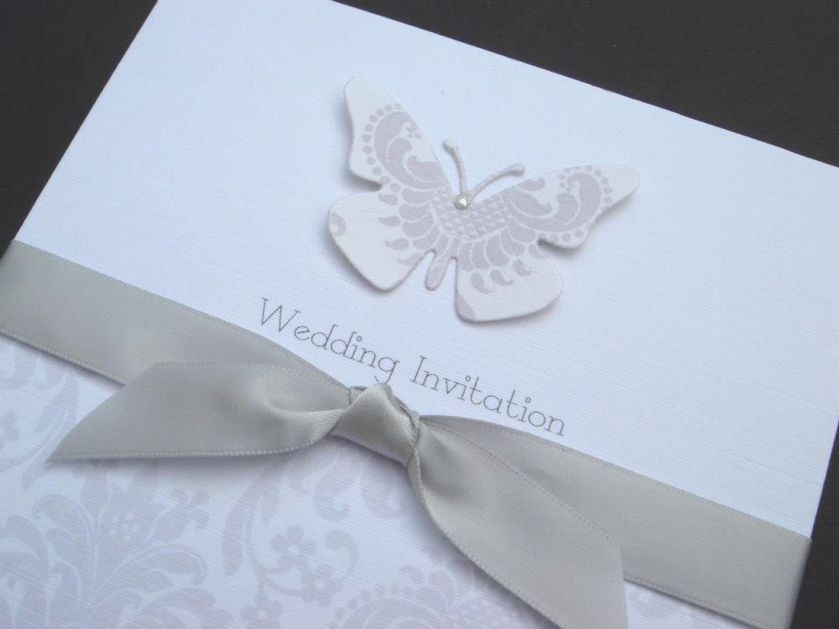 Wedding Invitation Card Handmade: Handmade Wedding Stationery And Cards