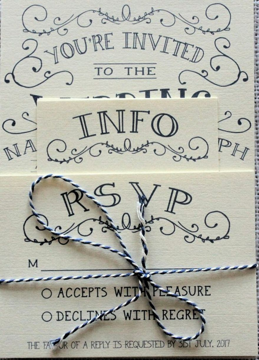 Handmade Wedding Stationery Set