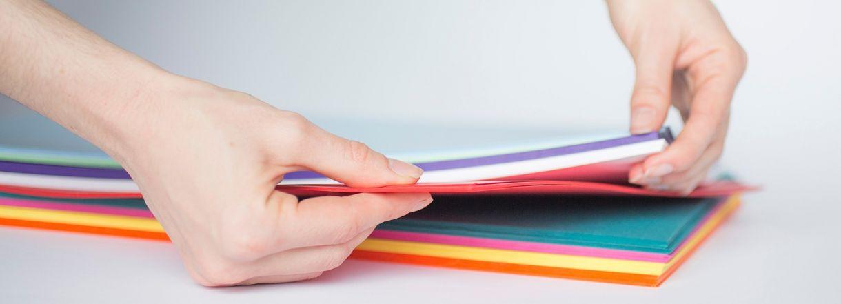 Hands Paper Slider