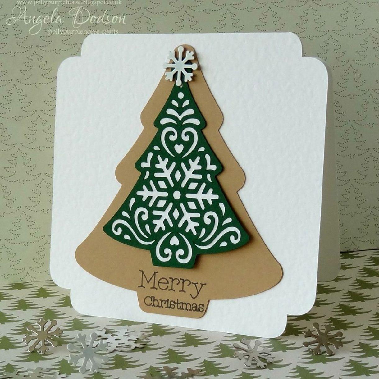 Hanging Tree Christmas Card