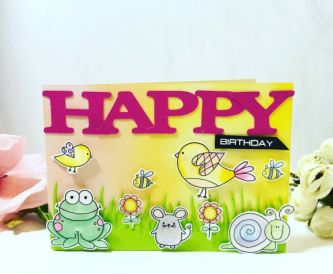 How To Make A Happy Birthday Card