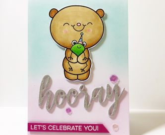 How To Make A Hooray Birthday Card