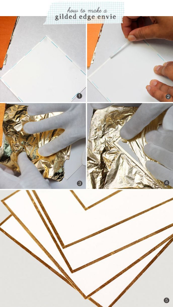 How To Make A Gilded Edge