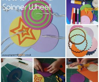 How To Make A Spinner Wheel