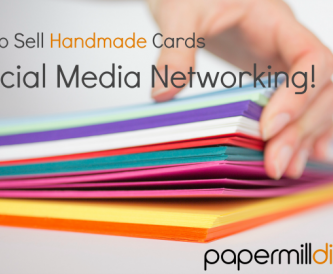 How to sell handmade cards - Social Media Marketing