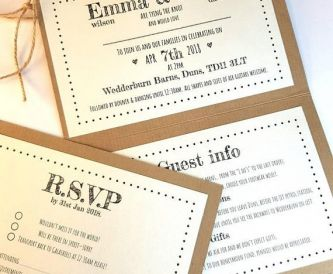 Wedding Stationery Advice From Rachael's Kraft Box