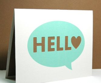 Welcome to our new paper crafting blog!