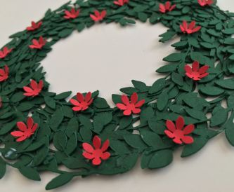 Mini Christmas wreath