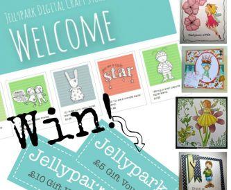 Jellypark Digital Stamp Giveaway!