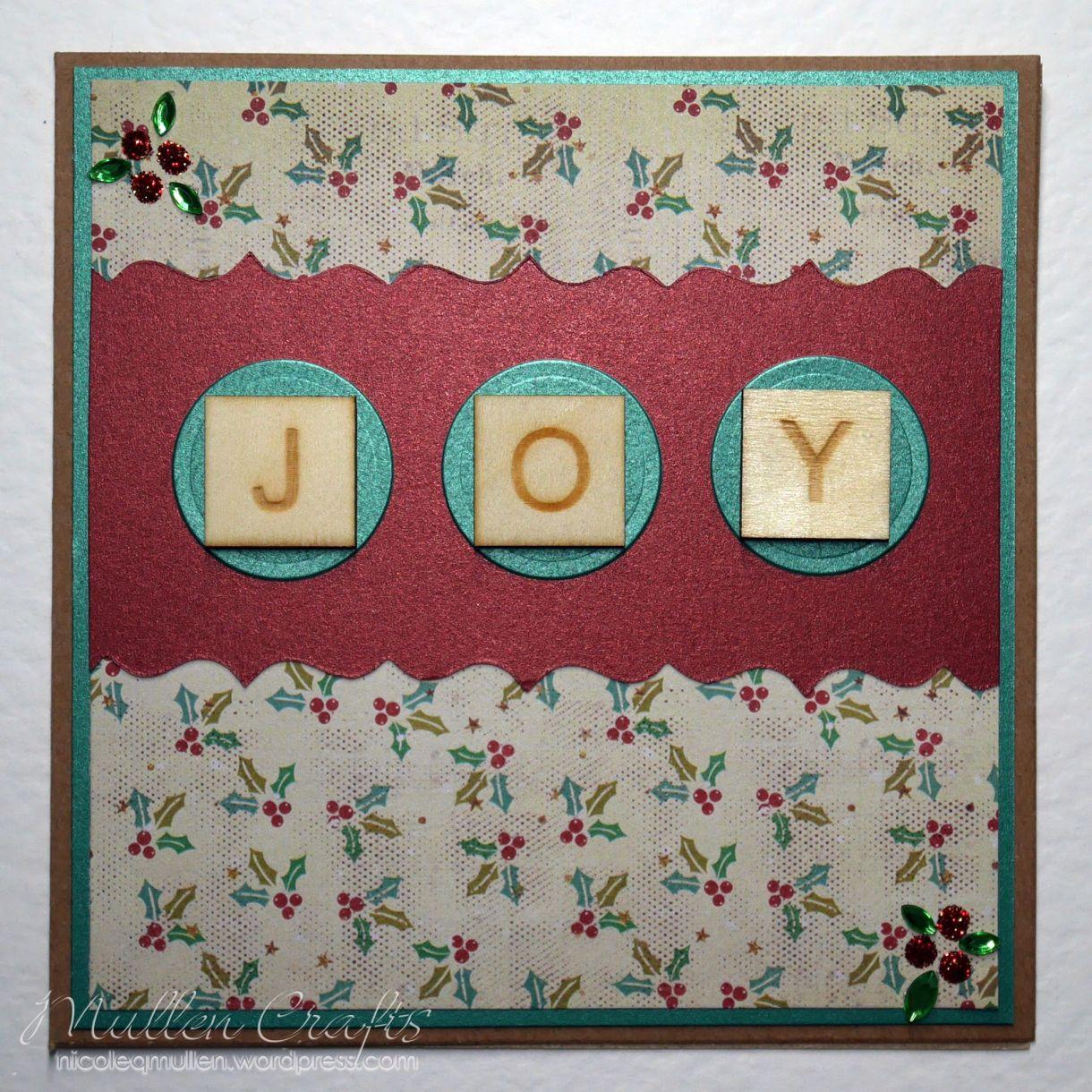 Joy Scrabble Card Nm 10