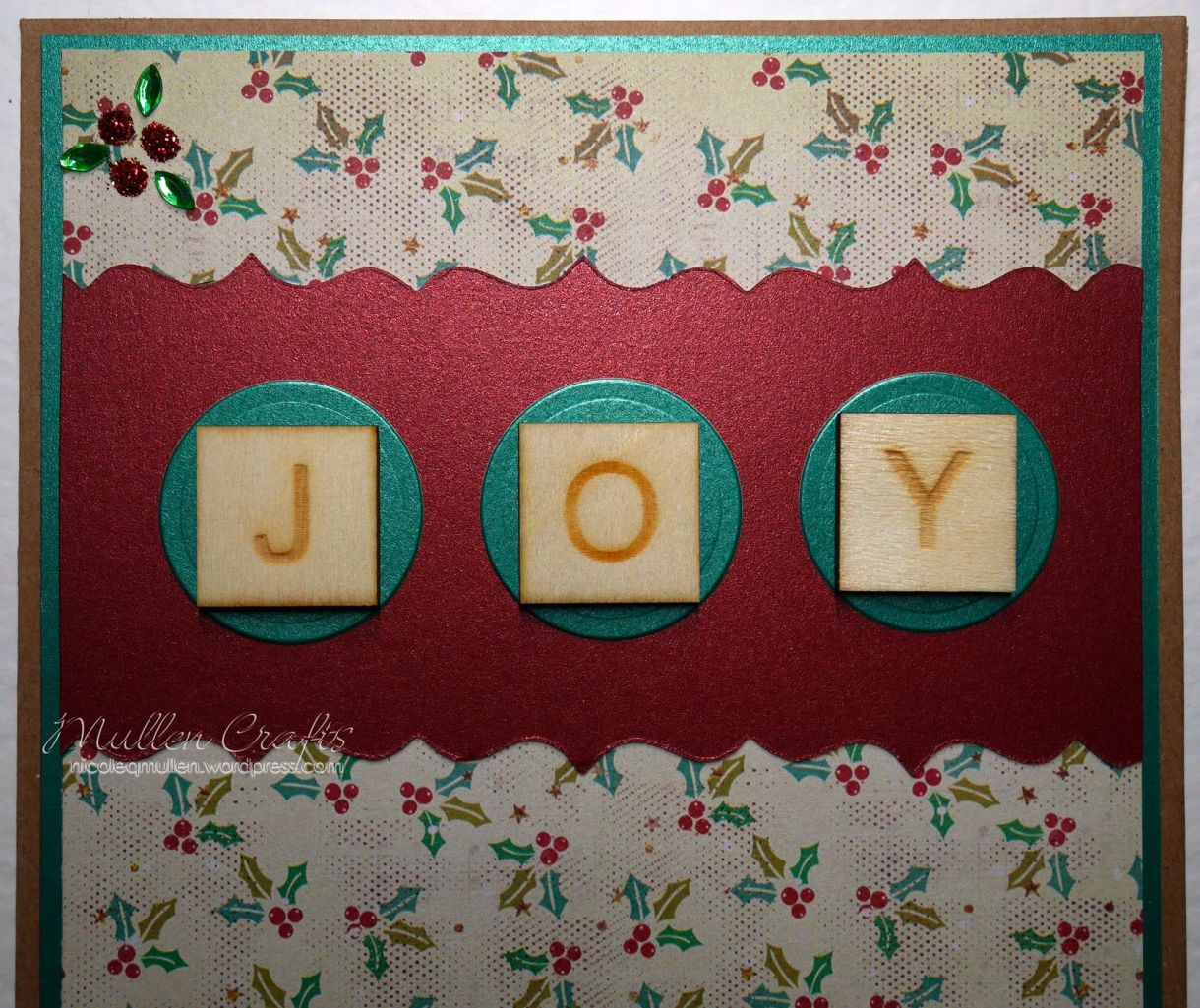 Joy Scrabble Card Nm 12