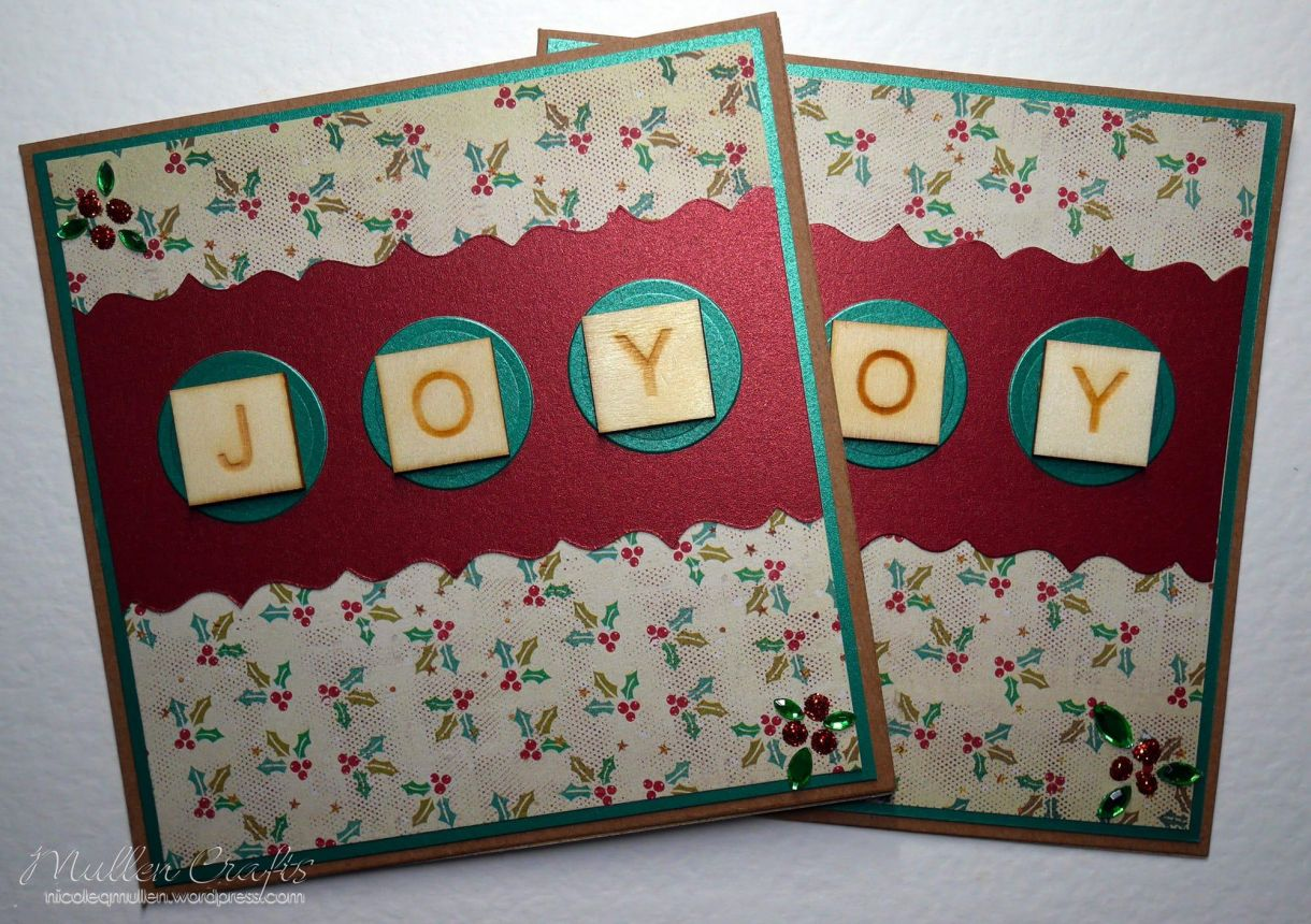Joy Scrabble Card Nm 13