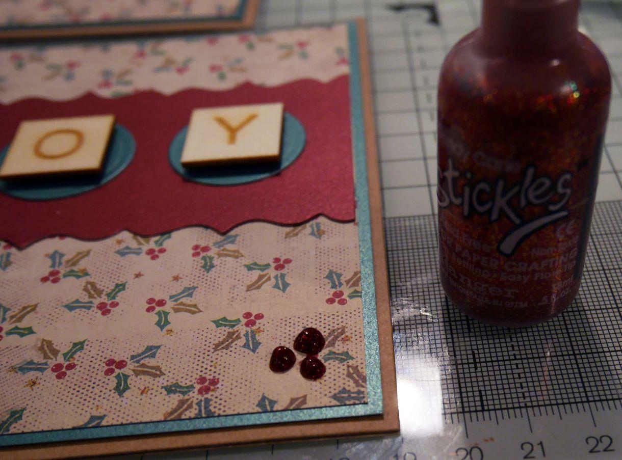 Joy Scrabble Card Nm 8